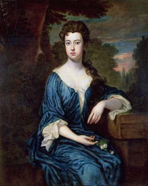 Portrait of Lady Henrietta Stanley (d.1718) (oil on canvas)