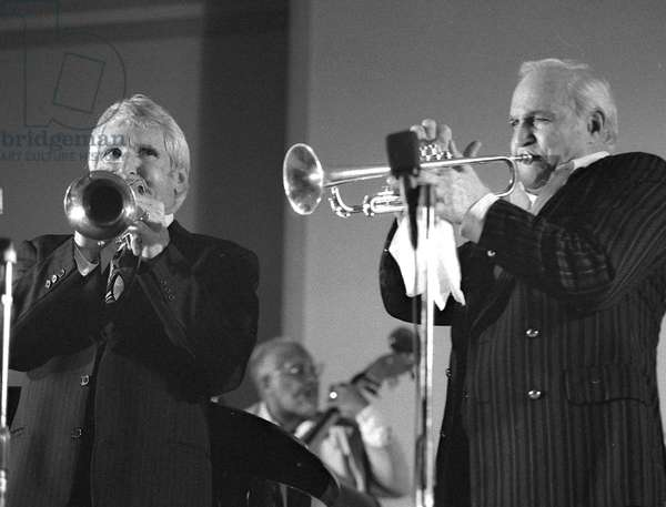 Pete Candoli and Conte