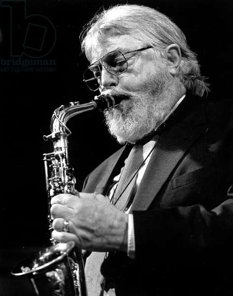 Bud Shank performing