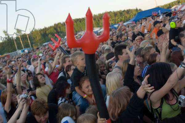 Audience at Lordi concert