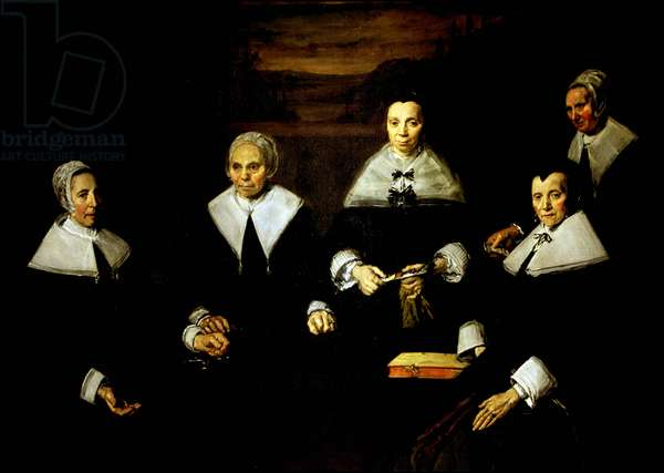 The regents of the old men's home of Haarlem,