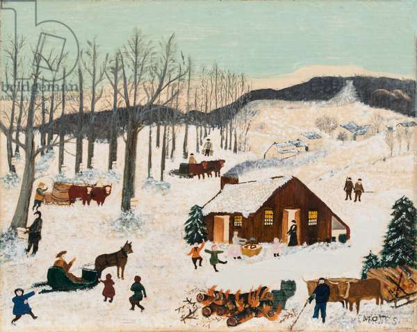 Sugaring Off, c.1940-1942 (oil on canvas)