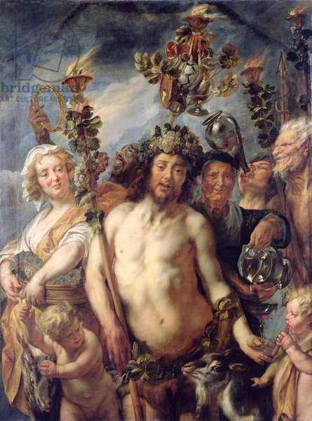 The Triumph of Bacchus, c.1640-50 (oil on canvas)