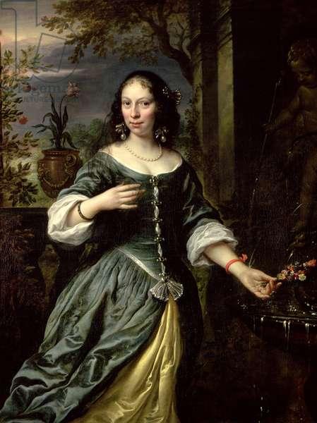Portrait of Margaretha Tulp as a Bride, 1655 (oil on canvas)