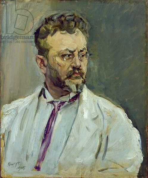 Self Portrait, 1915 (oil on wood)