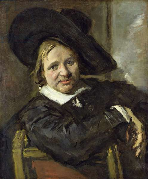 The Man with the Slouch Hat, after 1660 (oil on canvas)