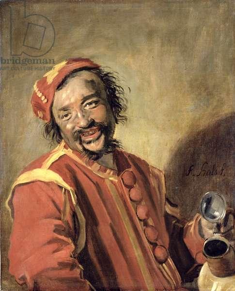 Peeckelhaering (The Jolly Reveller), 1640-43 (oil on canvas)