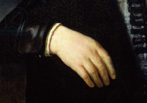 Full Length Portrait of a Standing Man, 1639 (oil on canvas) (detail) (see 242009)