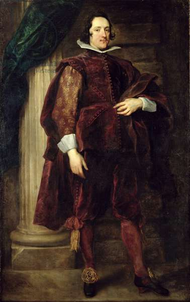 Portrait of an Italian Nobleman, 1624-27 (oil on canvas)