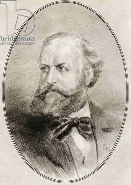 Charles-Francois Gounod, from Living Biographies of Great Composers