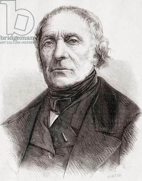 François Pierre Guillaume Guizot, from 'L'Univers Illustré', published 1866 (engraving)
