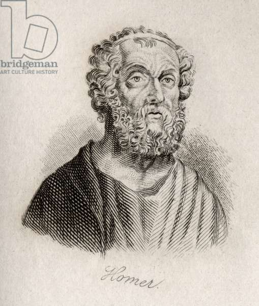 a biography of homer the greek poet