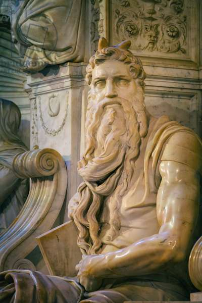 Moses (marble)