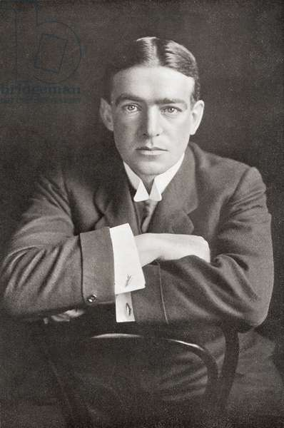 Sir Ernest Henry Shackleton, 1874 – 1922.  Anglo-Irish polar explorer.  From The Wonderful Year 1909