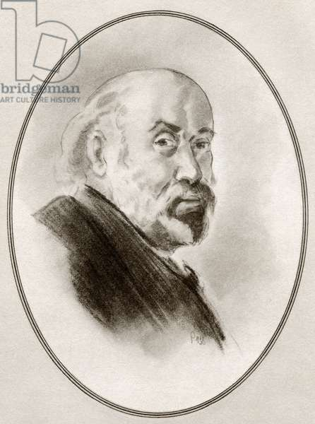 Paul Cezanne, from Living Biographies of Great Painters