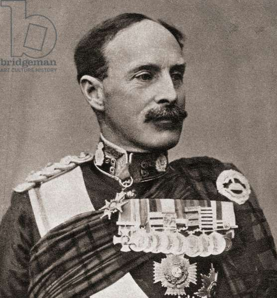 General Sir Ian Standish Monteith Hamilton, from 'The Illustrated War News', 1915 (b/w photo)