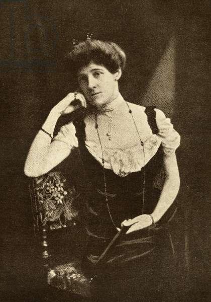 Edith Wharton (1862-1937) (litho)