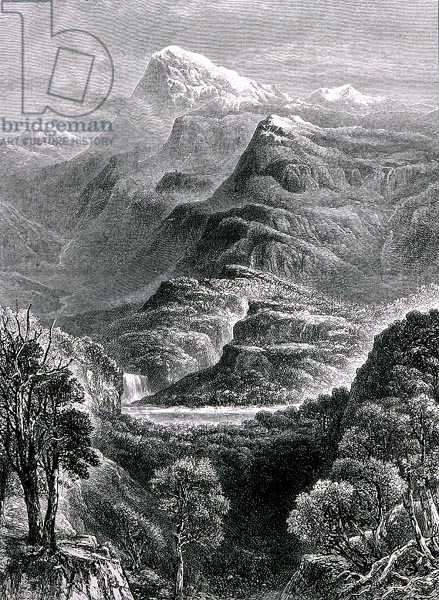 Mount Kosciusko, New South Wales, Australia, from 'Australian Pictures', pub. by The Religious Tract Society, 1886 (engraving)
