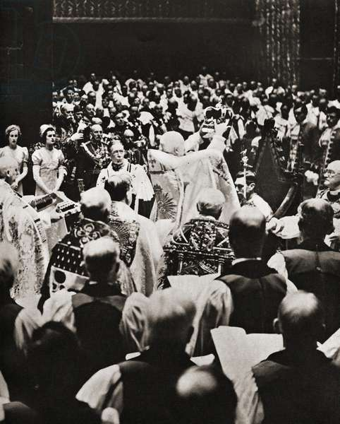 The coronation of George VI, (1895 – 1952), 12 May, 1937.  King of the United Kingdom.