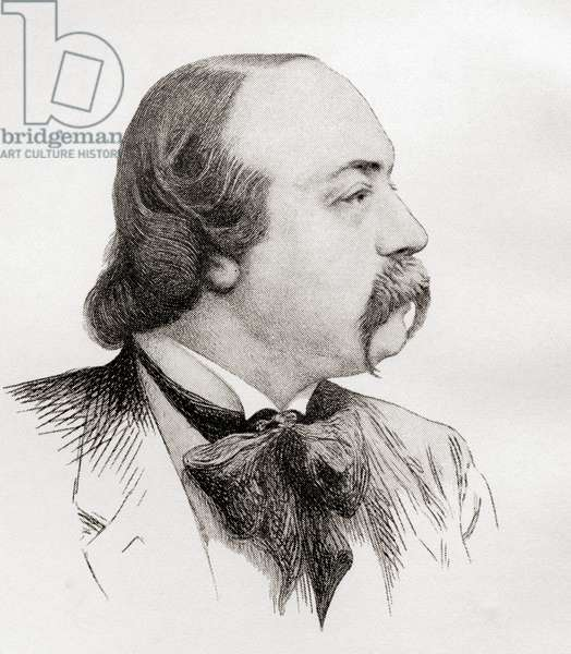 Gustave Flaubert, from Gustave Flaubert, published 1935 (litho)