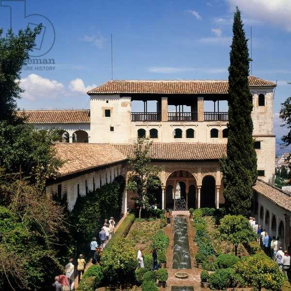 Generalife palace, Granada, Spain. (photo)