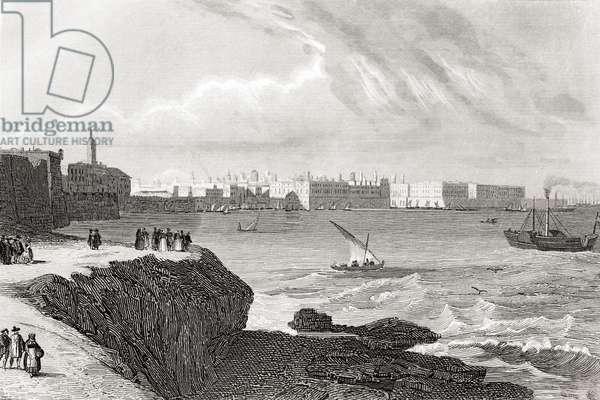 Cadiz, Spain in the early 19th century