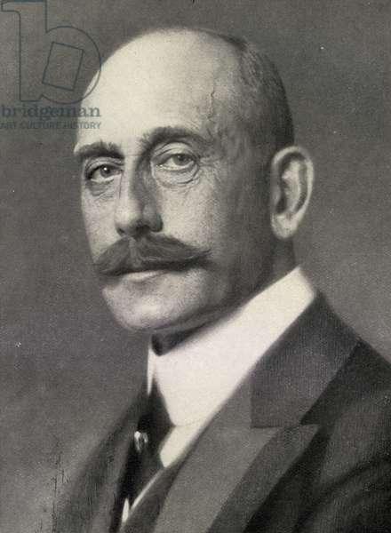 Max Von Baden (1867-1929) (b/w photo)