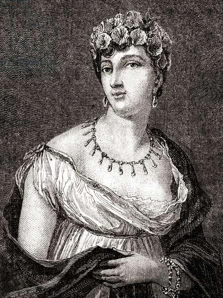 Thérésa Cabarrus, Madame Tallien, from 'Histoire de la Revolution Française' by Louis Blanc (engraving)