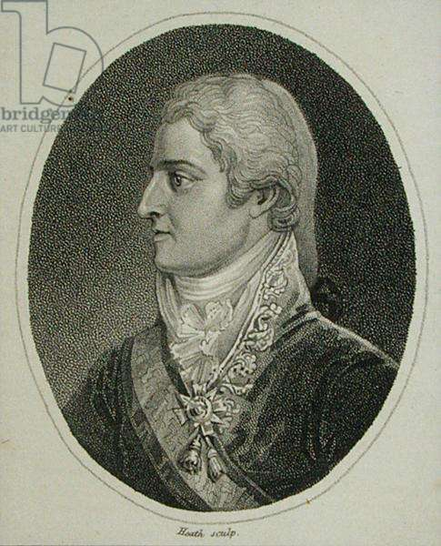 Ferdinand VII (1784-1833) 'The Desired', engraved by Heath (engraving)