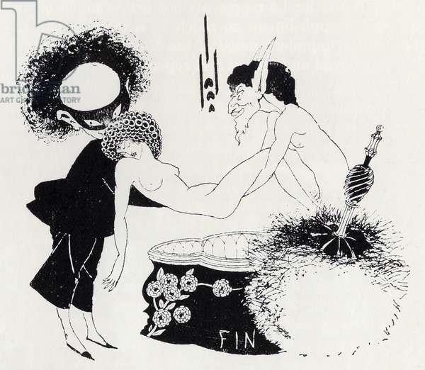 Tail-piece from 'Salome' by Oscar Wilde (1854-1900) (litho)