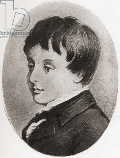 Charles Stewart Parnell aged 8, 1846-1891.  Irish patriot and politician.