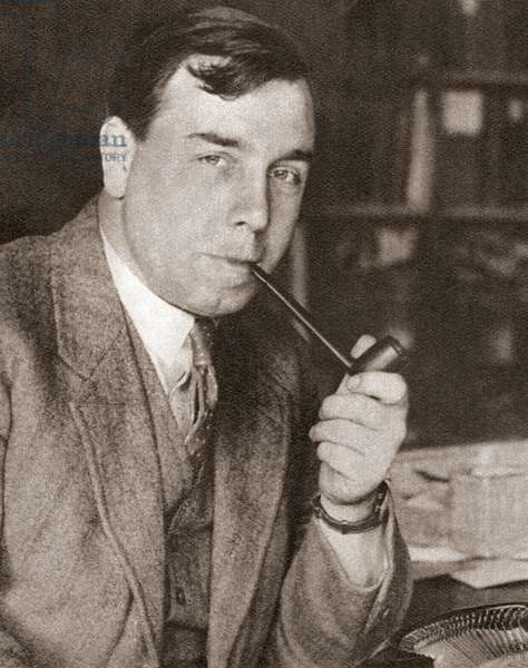 John Boynton Priestley, known by his pen name J.B. Priestley, from These Tremendous Years, pub.1938