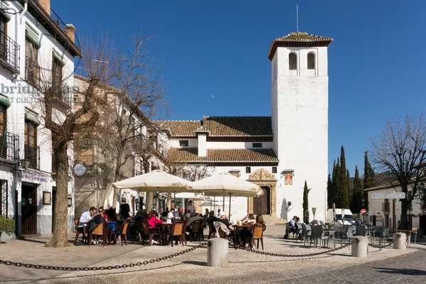 Granada, Spain.  San Miguel Bajo.
