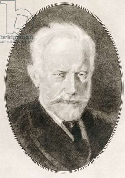 Pyotr Ilyich Tchaikovsky, from Living Biographies of Great Composers