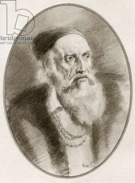 Tiziano Vecelli or Tiziano Vecellio, from Living Biographies of Great Painters