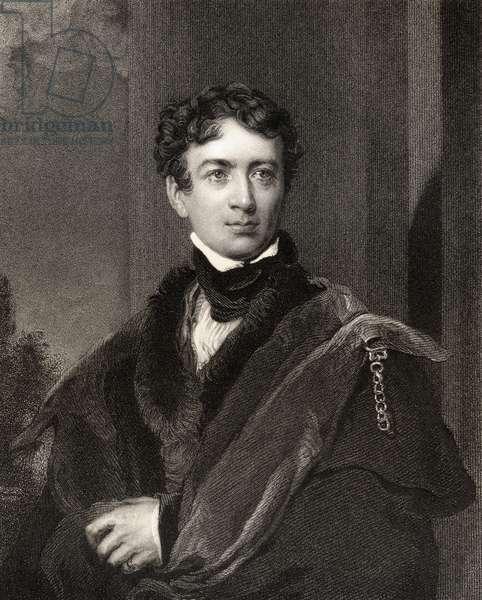 John George Lambton, 1st Earl of Durham, engraved by John Cochran (fl.1821-65), from 'National Portrait Gallery, volume IV', published c.1835 (litho)