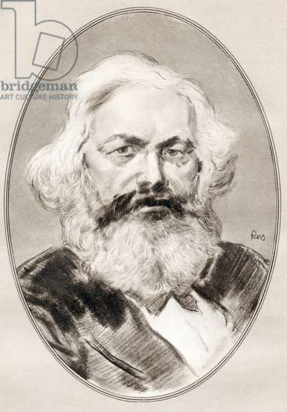 Karl Marx, from Living Biographies of Famous Men