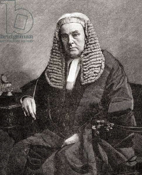 James Hannen, Baron Hannen, 1821 –  1894.
