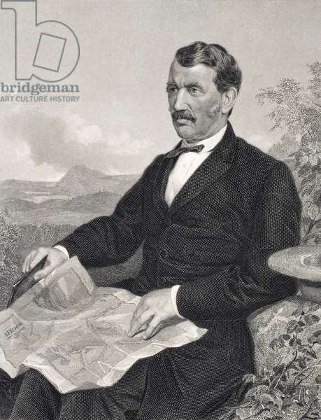 David Livingstone (1813-73) (engraving)