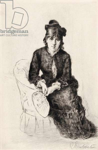 Berthe Morisot, portrait (drawing)