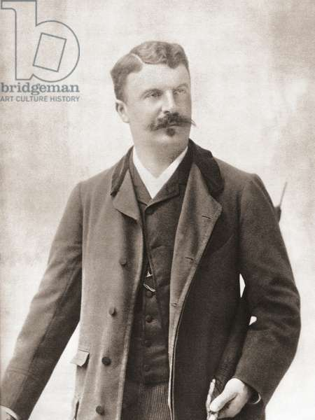 Henri Rene Albert Guy de Maupassant, after a contemporary print