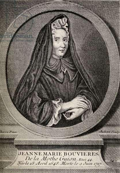 Jeanne-Marie Bouvier de la Motte-Guyon, aka Madame Guyon, 1648 to 1717. French catholic mystic.