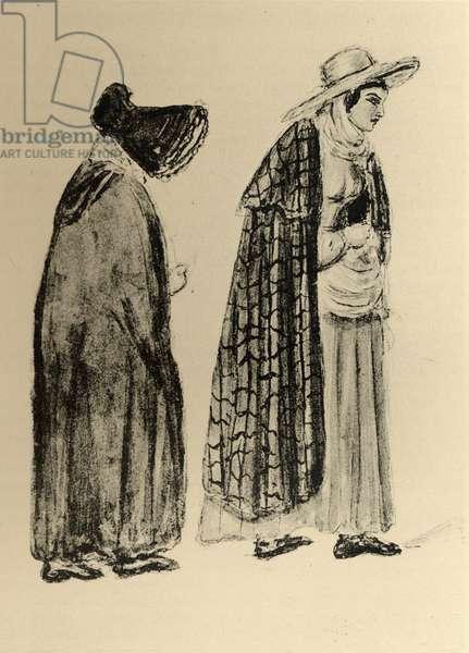Gypsy Women (engraving)
