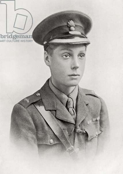 The Prince of Wales, later King Edward VIII, from The Year 1916 Illustrated (print)