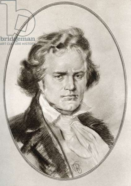 Ludwig van Beethoven, from Living Biographies of Great Composers