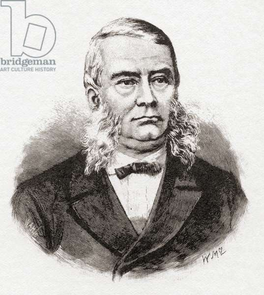 John Henry Thomas Manners-Sutton after a print dating from the 1880's