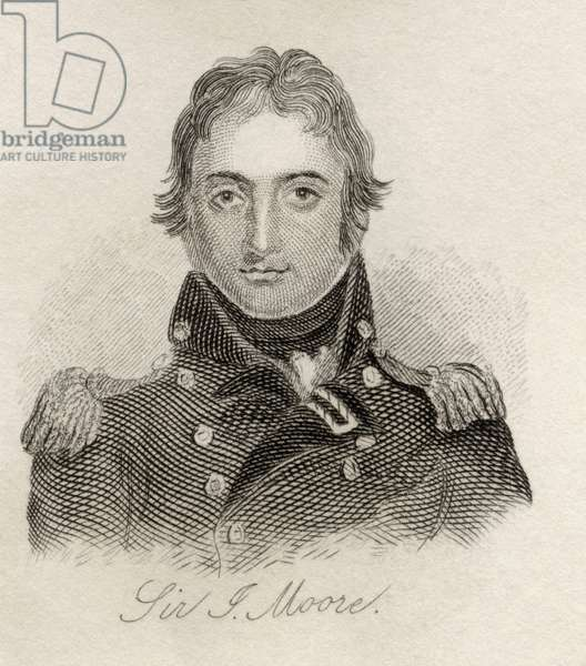Sir John Moore, from 'Crabb's Historical Dictionary', published 1825 (litho)