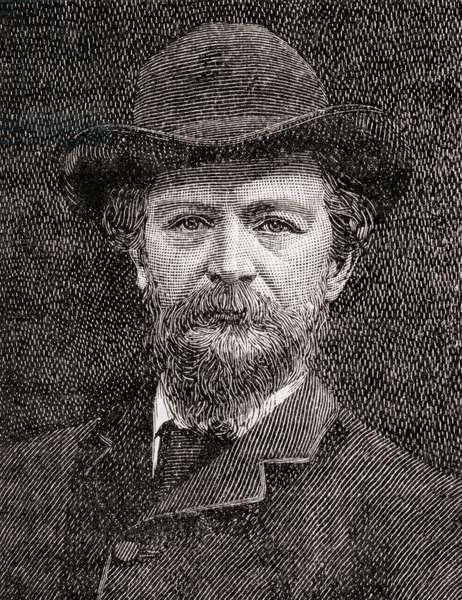 Algernon Charles Swinburne, 1837 – 1909.