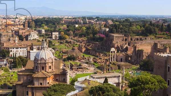 The Roman Forum, Rome, Italy (photo)