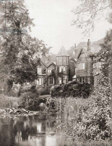 York Cottage, Sandringham, Norfolk, England., from The Coronation Book of King George VI and Queen Elizabeth, pub.1937